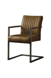 FERRO ARMCHAIR - SAVANNAH DARK BROWN 1078-03