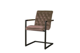 YORK ARMCHAIR - FABRIC GENOVA OUD ROSE 700