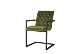YORK ARMCHAIR - FABRIC GENOVA GROEN 500