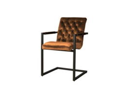 YORK ARMCHAIR - FABRIC GENOVA ORANJE 301