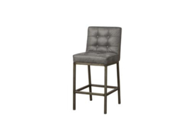VASCO BARSTOOL - FABRIC AMAZON 2 GREY