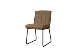 SANTO SIDECHAIR - FABRIC MIAMI 005 BROWN