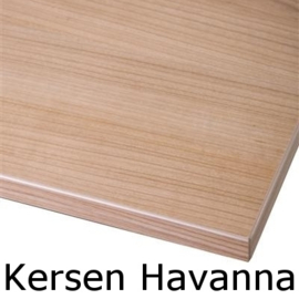 Tafel TR30351, zwart,  140x80cm, blad naar keuze