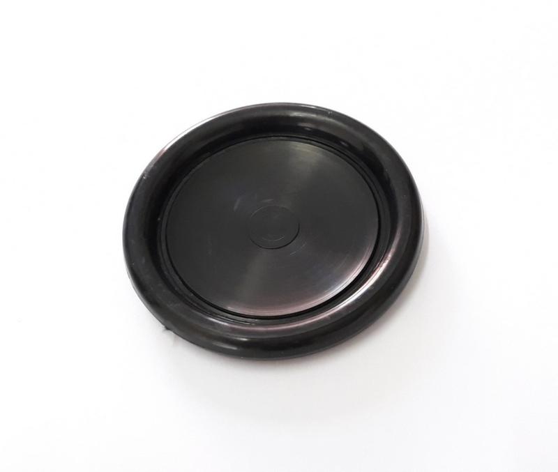 Onderzetter zwart extra dun