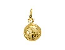gouden bedel(hanger) Voetbal