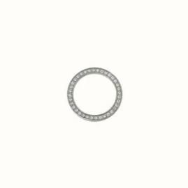 Dancing ring middel zilver zirconia
