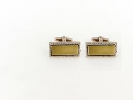 Manchetknopen zilver KR776