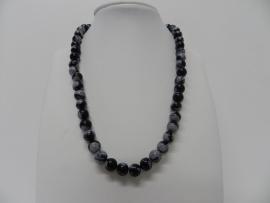 edelsteen collier hh1085 obsidiaan