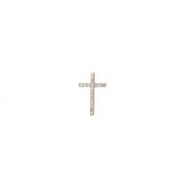 Kruis goud met zirconia 4009010