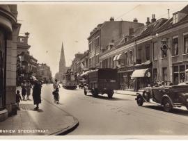 Steenstraat omstreeks 1910