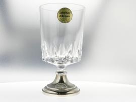 Wijnglas met zilveren voet VKB 379679