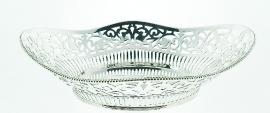 Cakeschaal ovaal (zilver) A7804010
