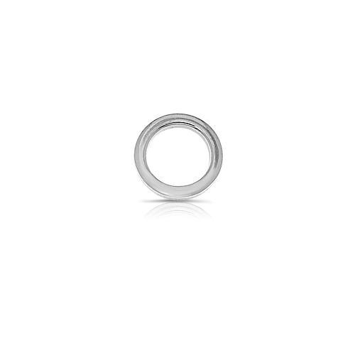 Dancing ring zilver glad  klein
