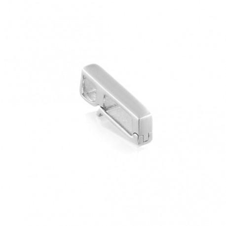 Hanger clip dancing zilver
