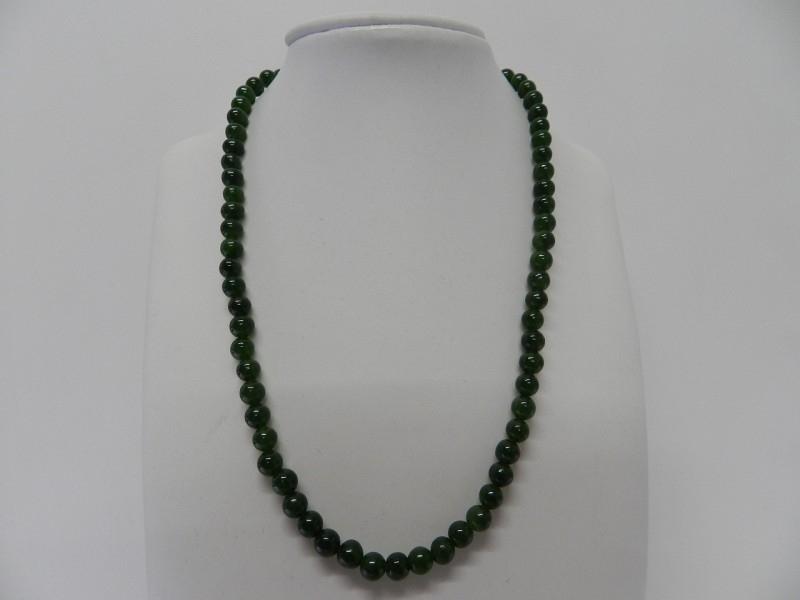 """edelsteen collier """"jade"""""""