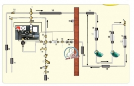 Suevia Rondpompsysteem model 311