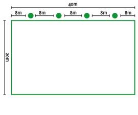Lichtplan B rijbak 20x40 mtr