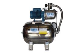 Hydrofoorset compl. inox + 24 ltr. druktank