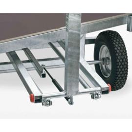transportwagen met mme-sturende achteras