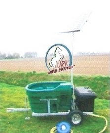 Suevia mobiele Solar drinkwaterunits, bron model SWT 81, 201, 401 & 1001.
