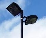losse verlichtings armaratuur voor 8 mtr mast