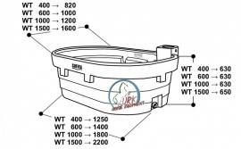 Suevia weidewaterbak WT 1000