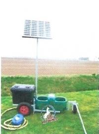 Suevia mobiele Solar drinkwaterunits oppervlakte water model SWT 80, 200, 400 & 1000.