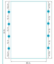 Lichtplan G Springtuin 45 x70 mtr