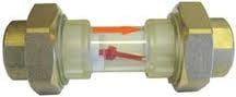 Doorkijkglas met detector