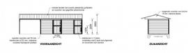 2 buitenstallen & opslagruimte