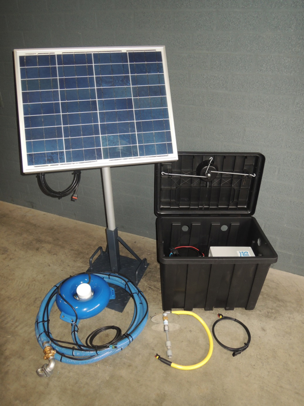 Animal Solar opp. water basisset