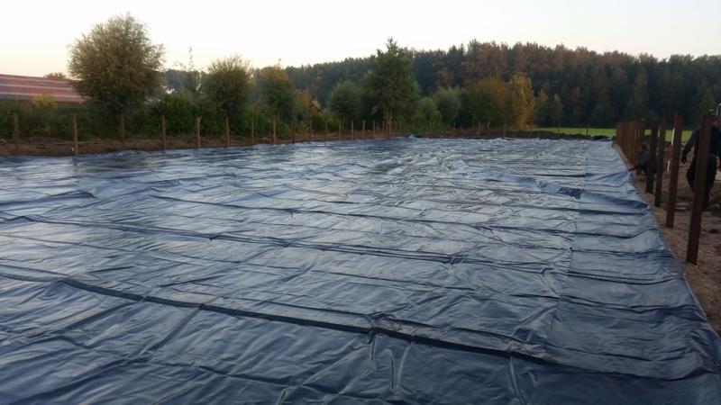 eb & vloed systeem pakket 45 x 75 mtr. bak