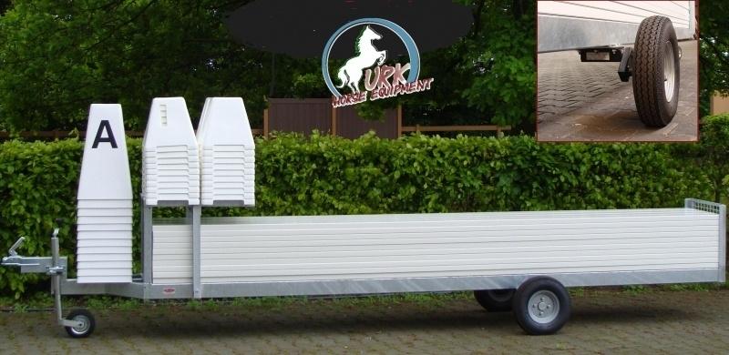 Dressuurpiste trailer