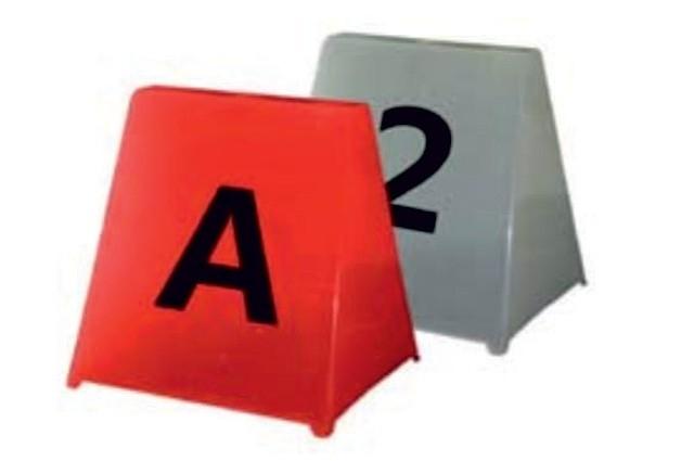 Letterpionnen A,B,C,D,E,F