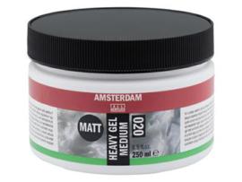 020 Amsterdam Heavy Gel Medium matt 250 ml
