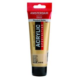 802 Amsterdam acryl metallic lichtgoud