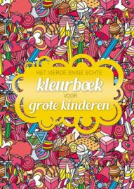 Het vierde enige echte kleurboek voor grote kinderen [BK/1/5]