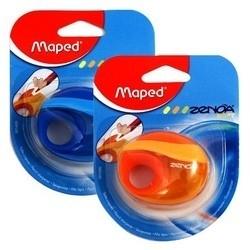 Puntenslijper Zenoa Maped 1-gaats - assorti kleuren - op blister (M2/3)