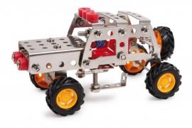 Constructieset metaal terreinwagen, 125 delig {L8348/1/4}