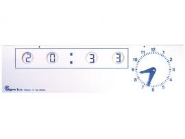 Demonstratieklok analoog-digitaal (bordmodel) {2/4}