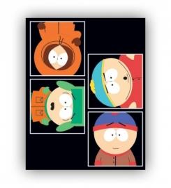 South Park Schrift A5 lijn, set van 3 assorti 13-14  *3/3*