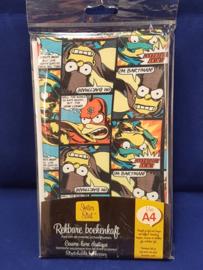 Boekenkaft rekbaar Simpsons  *2/1*