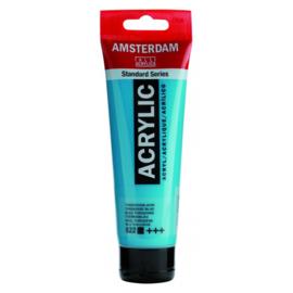 522 Amsterdam acryl turkooisblauw
