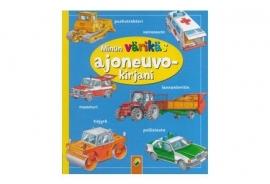 Mijn kleurige boek vol voertuigen [B0148]