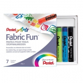 Pentel Arts Fabric Fun textielkrijt {W1/7}