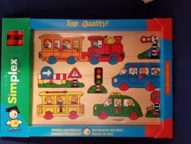 Houten puzzel Simplex vervoer {2/7} OP=OP