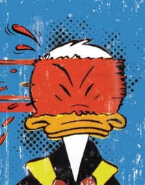 Donald Duck Schrift A5 lijn, set van 3 assorti 13-14  *3/3*