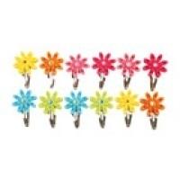 Vilten haarspeldjes bloem, set van 2 {L4565/W2/4}