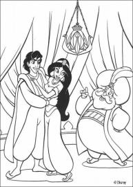 Disney`s Aladdin sticker parade [B0200]
