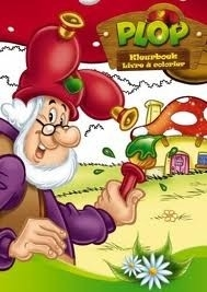 Kabouter Plop kleurboek [B0097]